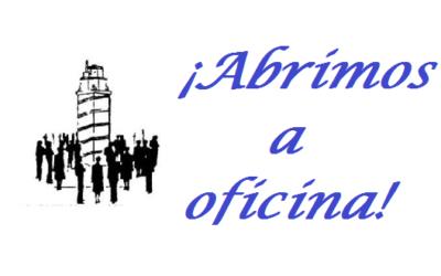 ABRIMOS A OFICINA